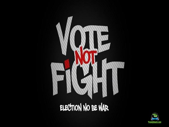 2Baba - Vote Not Fight