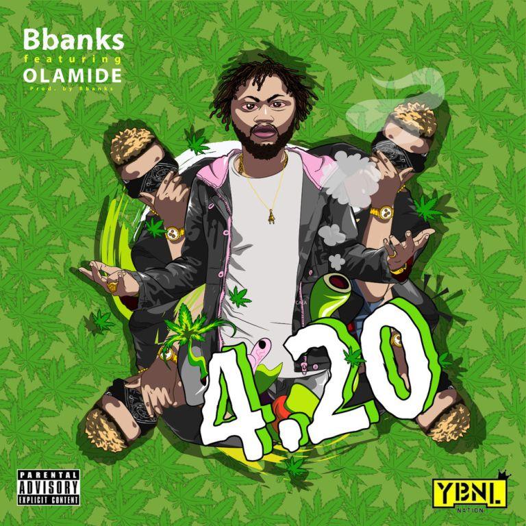 B Banks - 4.20 ft Olamide