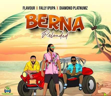 Flavour - Berna Reloaded ft Diamond Platnumz, Fally Ipupa