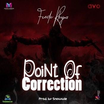 Freda Rhymz - Point Of Correction (Eno Barony and  Sista Afia Diss)
