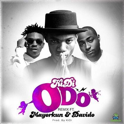 KiDi - Odo (Remix) ft Mayorkun, Davido