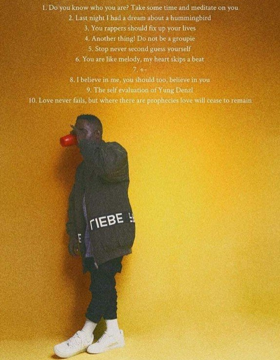 MI Abaga - Stop! Never Second Guess Yourself ft Cina Soul