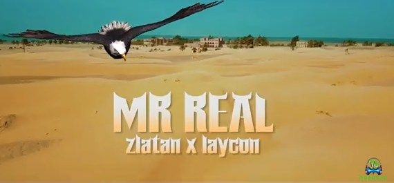 Mr Real - Baba Fela Remix (Video) ft Laycon, Zlatan