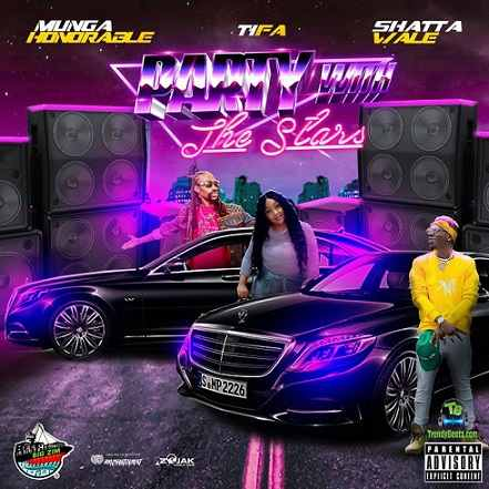 Shatta Wale - Party With The Stars ft Munga Honorable, Tifa