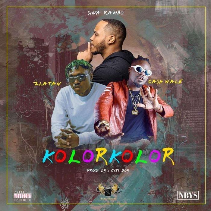 Sina Rambo - Kolor Kolor ft Zlatan & Cash Wale