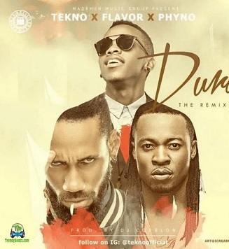 Tekno - Duro (Remix) ft Flavour, Phyno