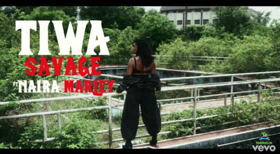 Tiwa Savage - Ole Video ft Naira Marley