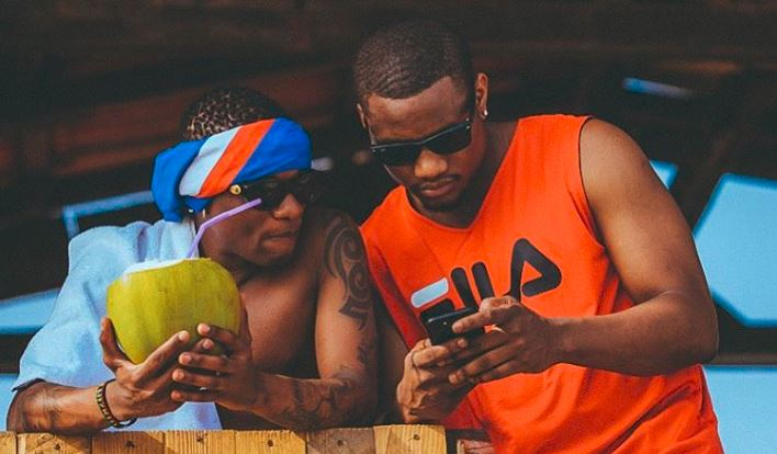 DJ Tunez and Wizkid Picture