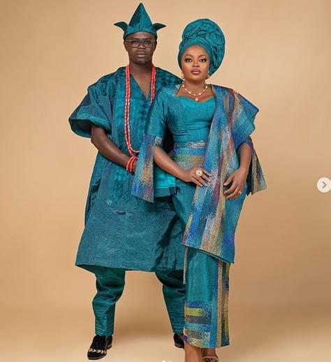 Funke Akindele and Husband 1