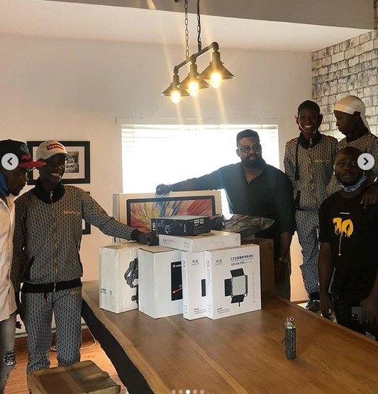 Ikorodu bois receives netflix gift 1