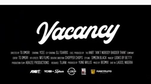Vacancy (Official Video)